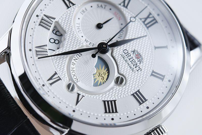 Zegarek Orient Sun&Moon SAK00002S V3 182.7 $