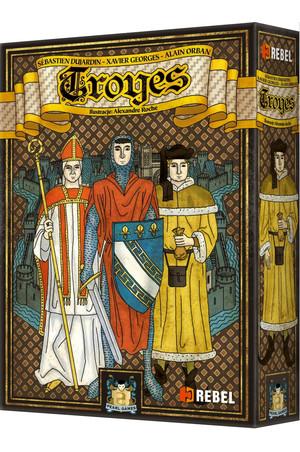 Troyes - jedna z najlepszych gier znowu w dobrej cenie!