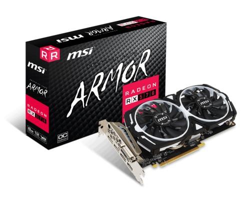 Karta graficzna MSI Radeon RX570 ARMOR OC 8GB DDR5