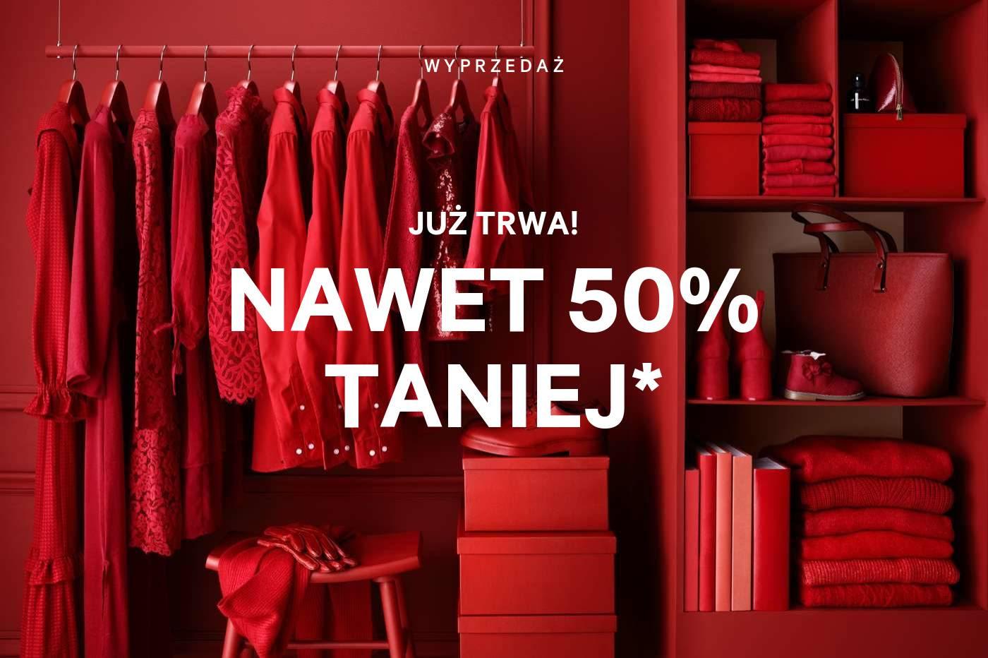 Wyprzedaż H&M Online - do -50%