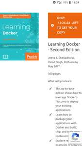 Ebook 'Learning Docker' za free