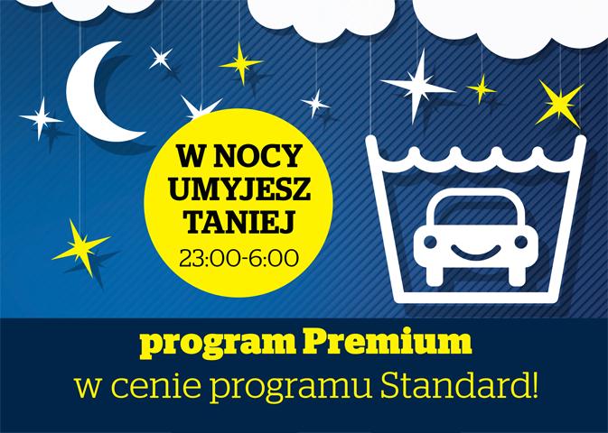 Mycie auta w programie premium w cenie programu standard @ Statoil