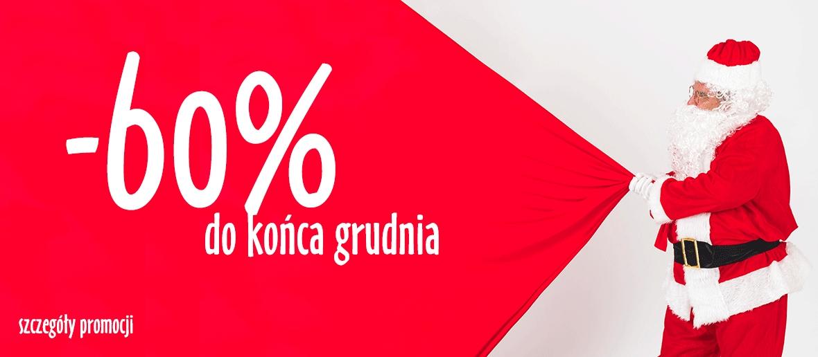 Świąteczna obniżka, -60% rabatu do końca grudnia w księgarni Muza
