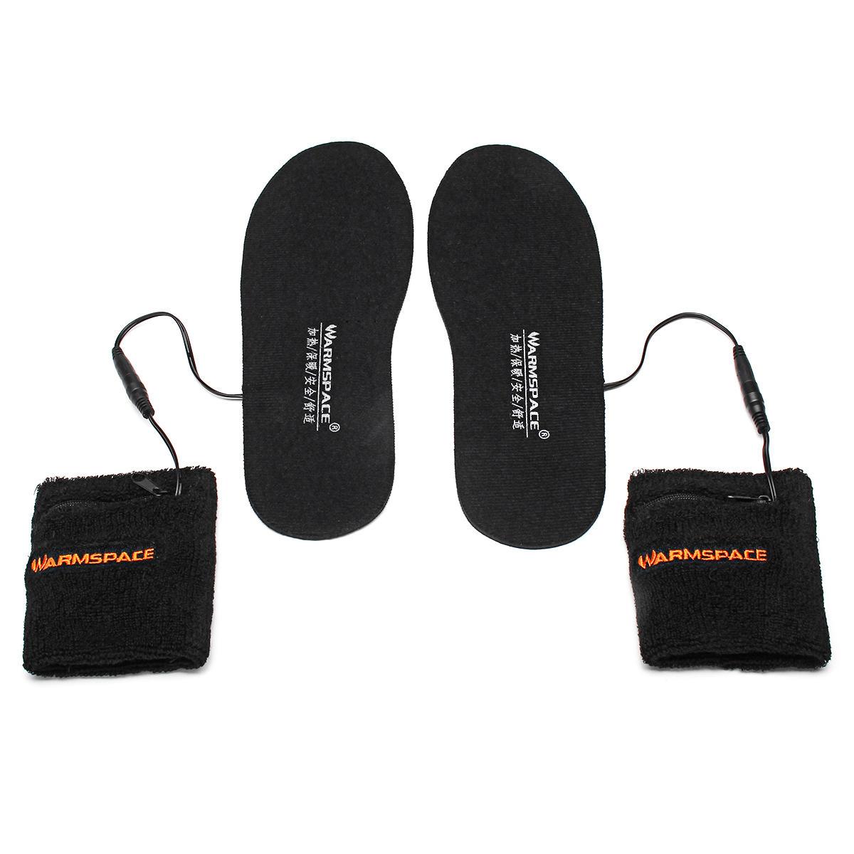 WARMSPACE elektryczna wkładka do butów z podgrzewaną wodą + 2 baterie za 22,99$