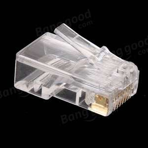 Wtyk RJ45 CAT5 Gold Shielded 100szt za 2,99$