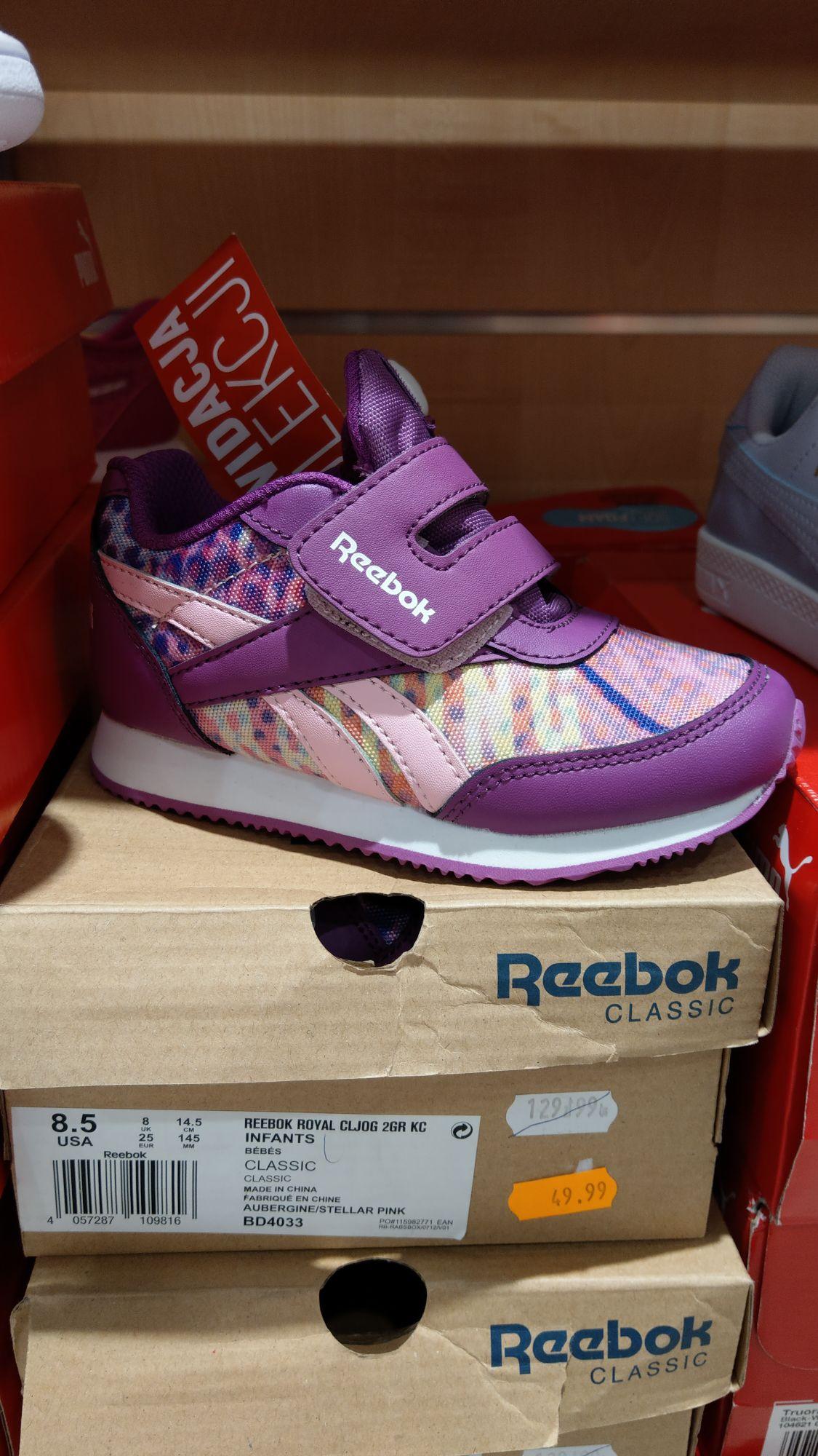 Buty dziewczęce Reebok