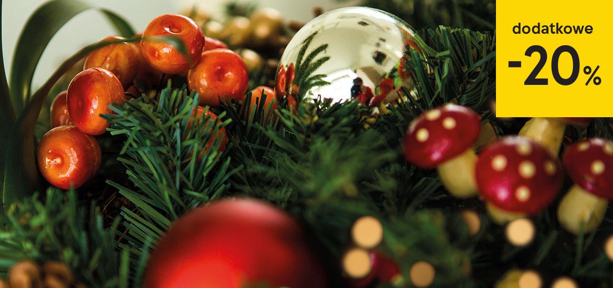 Dodatkowe 20% rabatu na dekoracje świąteczne (obejmuje przecenę) @ Tesco