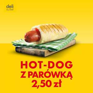Hot-dog na stacji Shell za 2,50zł