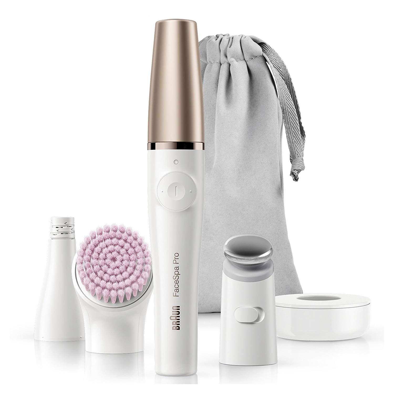 Urządzenie do pielęgnacji twarzy 3w1 Braun FaceSpa Pro 912 za 354zł @ Amazon