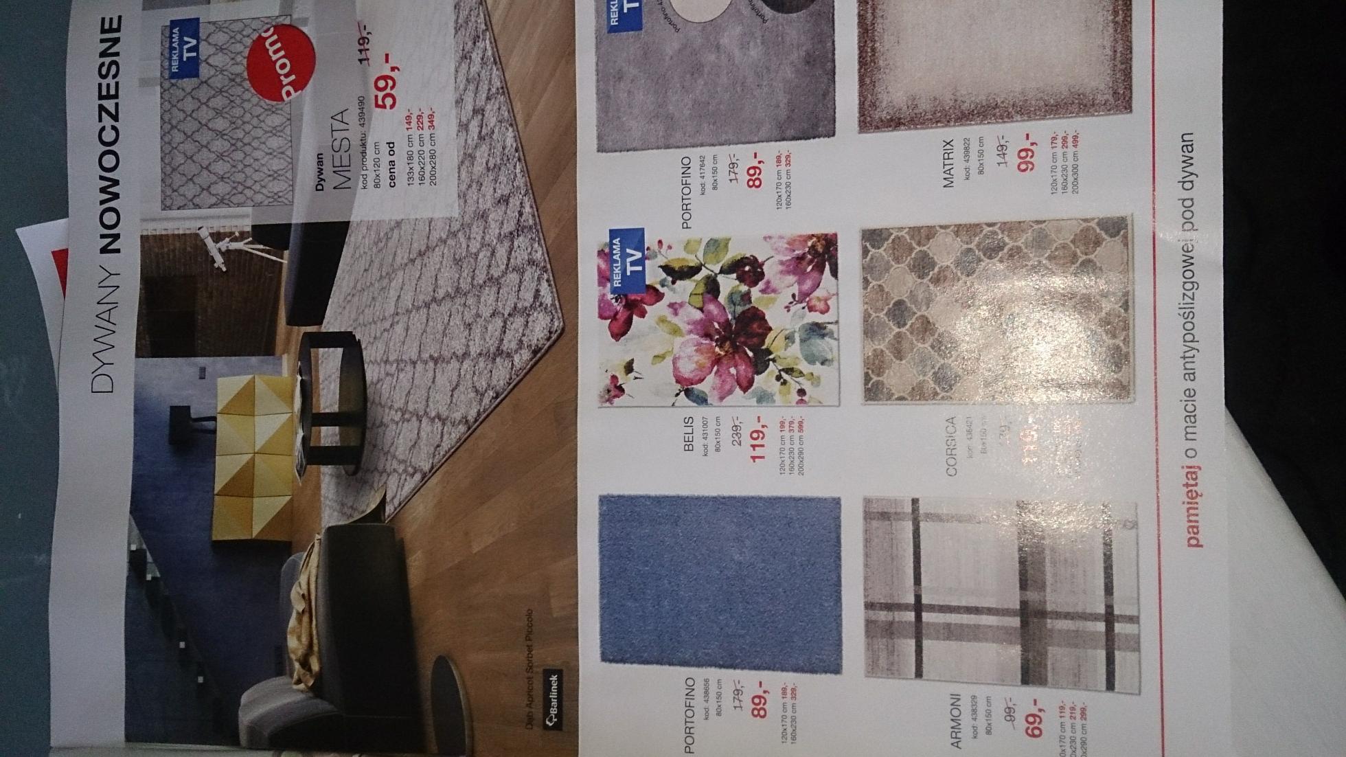 Tańsze o połowę dywany w Komforcie