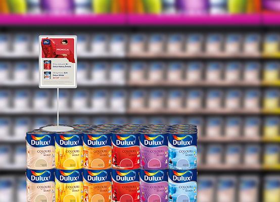 Kup 5l farby a 2,5 litra otrzymasz gratis @ Dulux