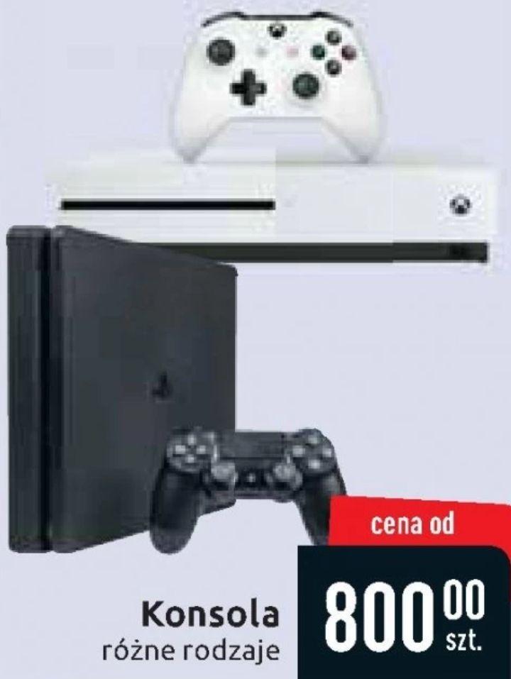 Konsole Xbox One i PS4 na poświątecznej wyprzedaży (od 800 zł) @ Carrefour