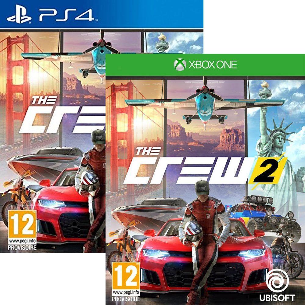 AKTUALNE! The Crew 2 - PS4 i Xbox One - Zamknięte bo minusują wuj wie dlaczego..