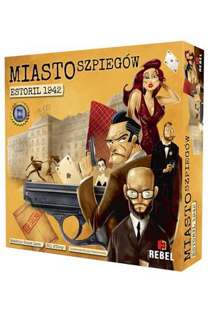 Miasto Szpiegów Estoril 1942 - gra planszowa
