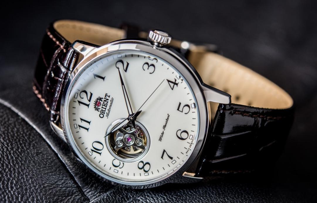 Zegarek Automatyczny Orient RA-AG0010S10B open-heart