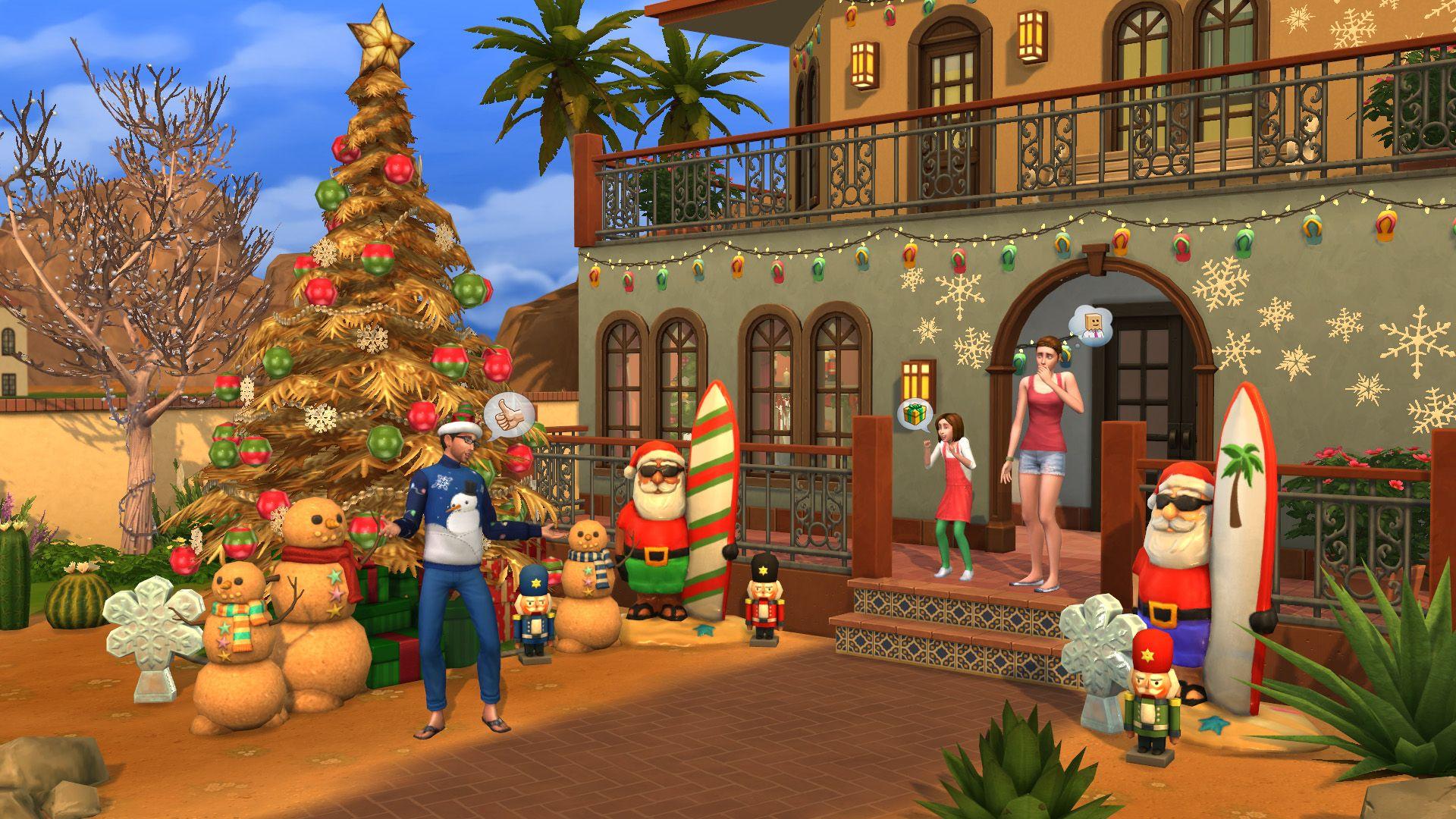 Dodatek The Sims™ 4 Zestaw Świąteczny za darmo Origin