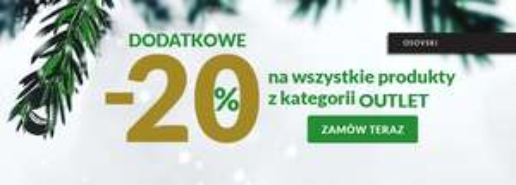 Osovski -20% na produkty z outletu