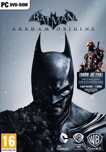 Batman Arkham Origins i wiele innych tytułów do -90%