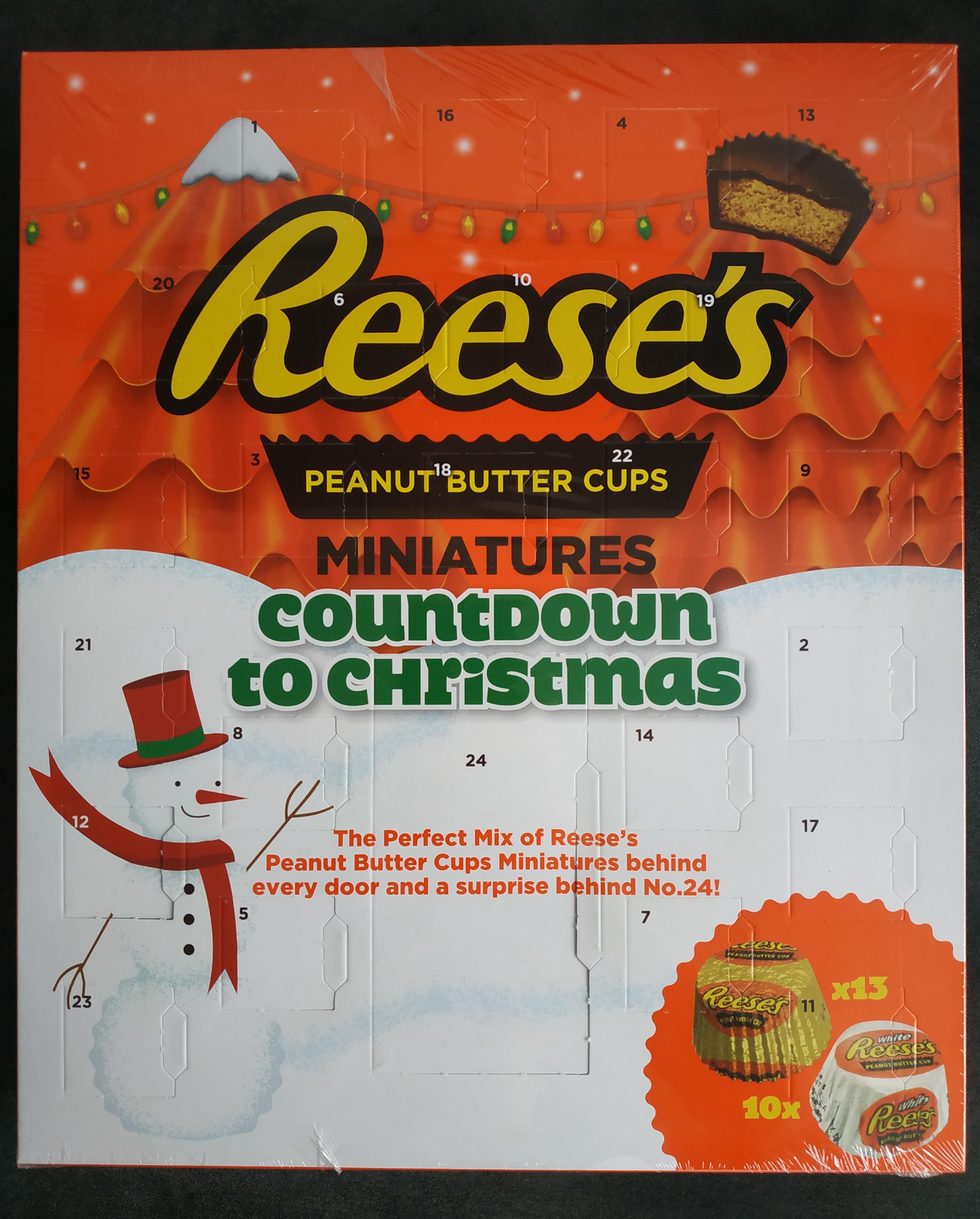 Kalendarz adwentowy Reese's (mega cena za kg) TESCO