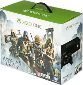 XBOX ONE 500GB + ASSASSINS CREED UNITY + BLACK FLAG - 20% OFF