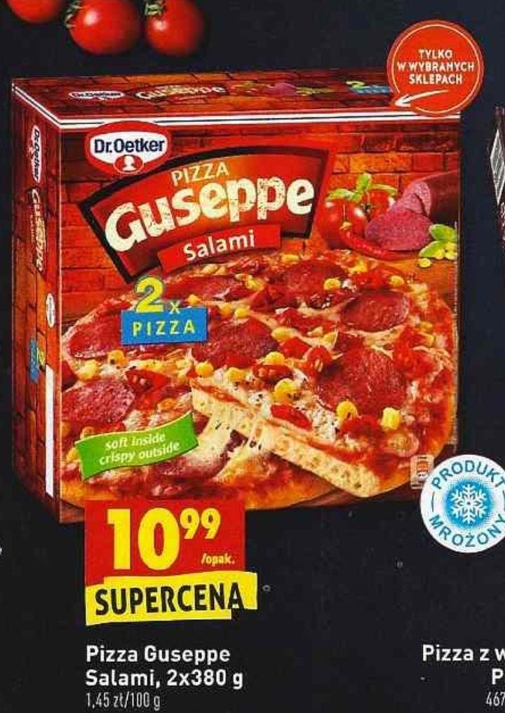 2x pizza Guseppe Salami (5,49zł za 1) @ Biedronka