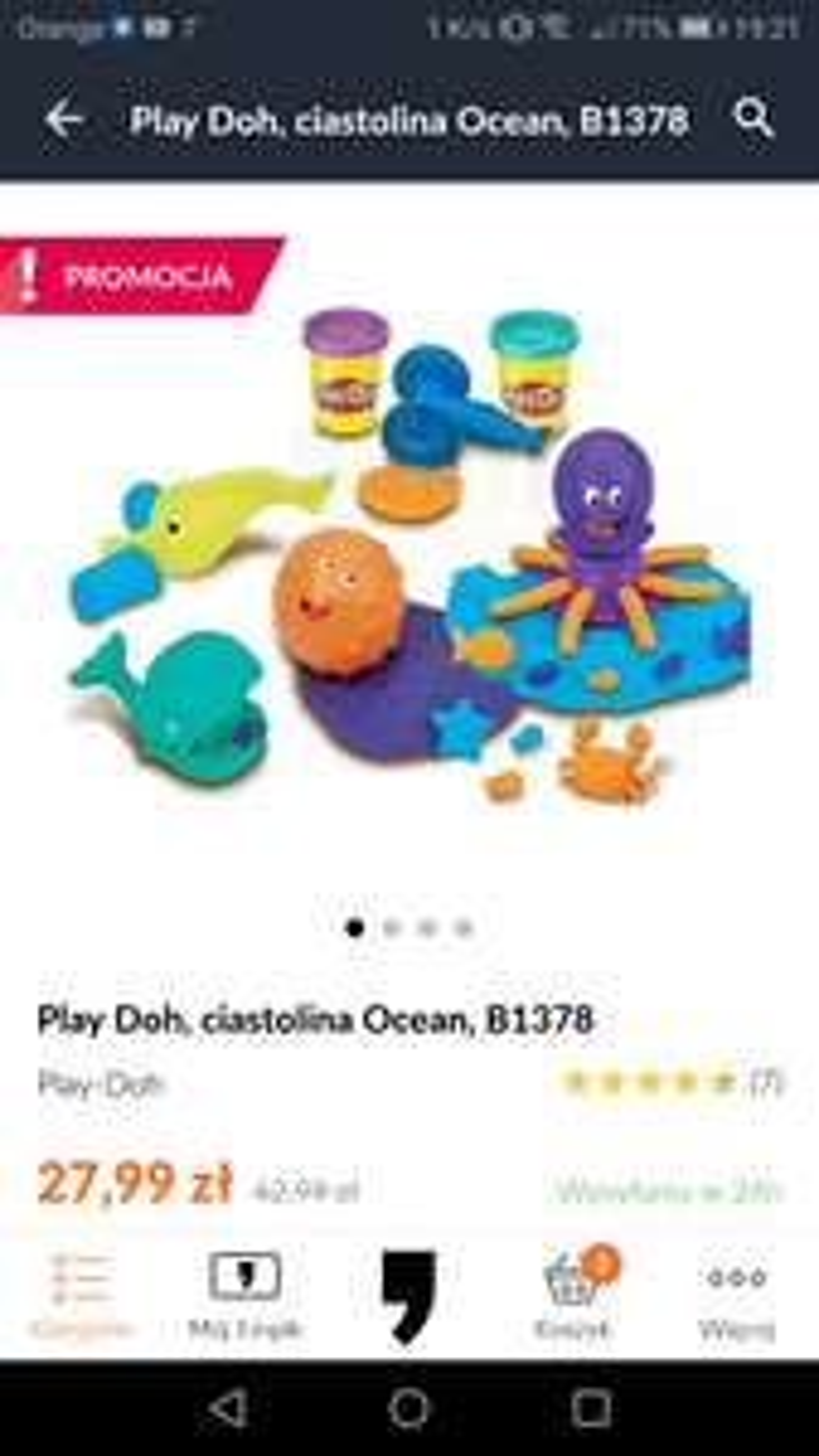 Zestaw Play Doh Ocean Empik