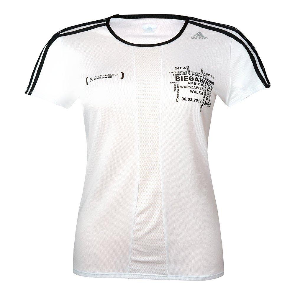 Damska koszulka do biegania adidas 9. PZU półmaraton warszawski