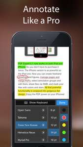 PDF Expert 5 - Fill forms, annotate PDFs, (0zl z 9,99euro) iOS