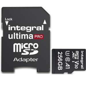 Karta Integral 256GB UltimaPRO V30 A1  142 zł  Mymemory