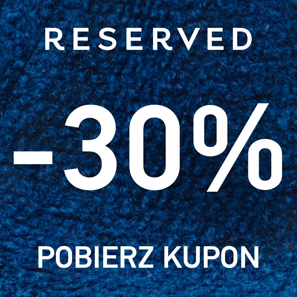 Reserved -30% na Facebooku @ Reserved