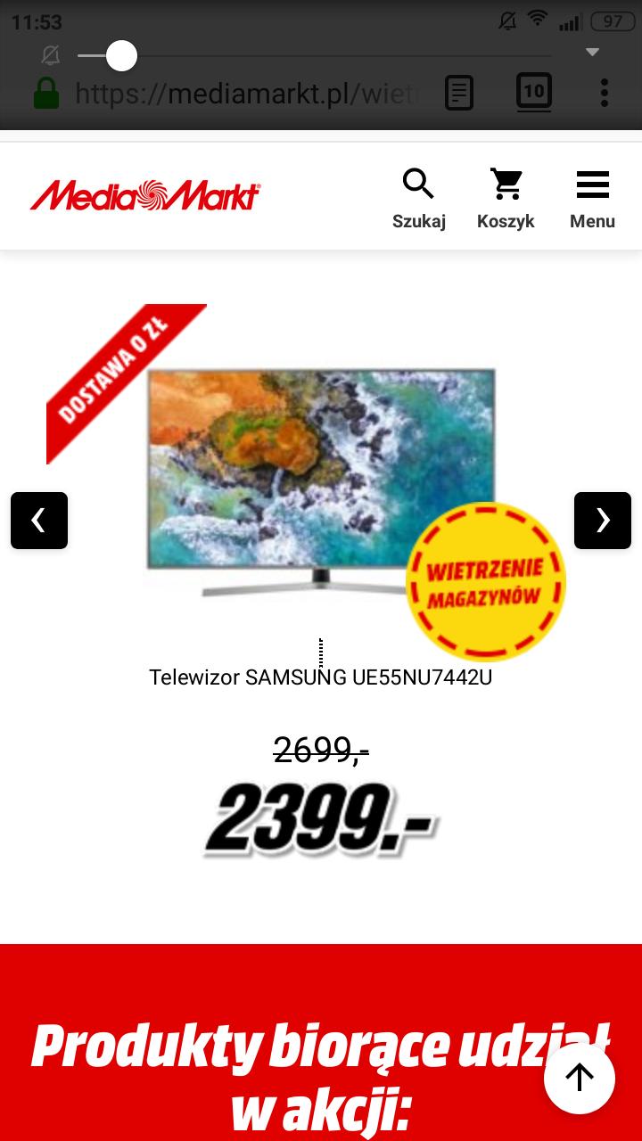 Samsung UE55NU7442U