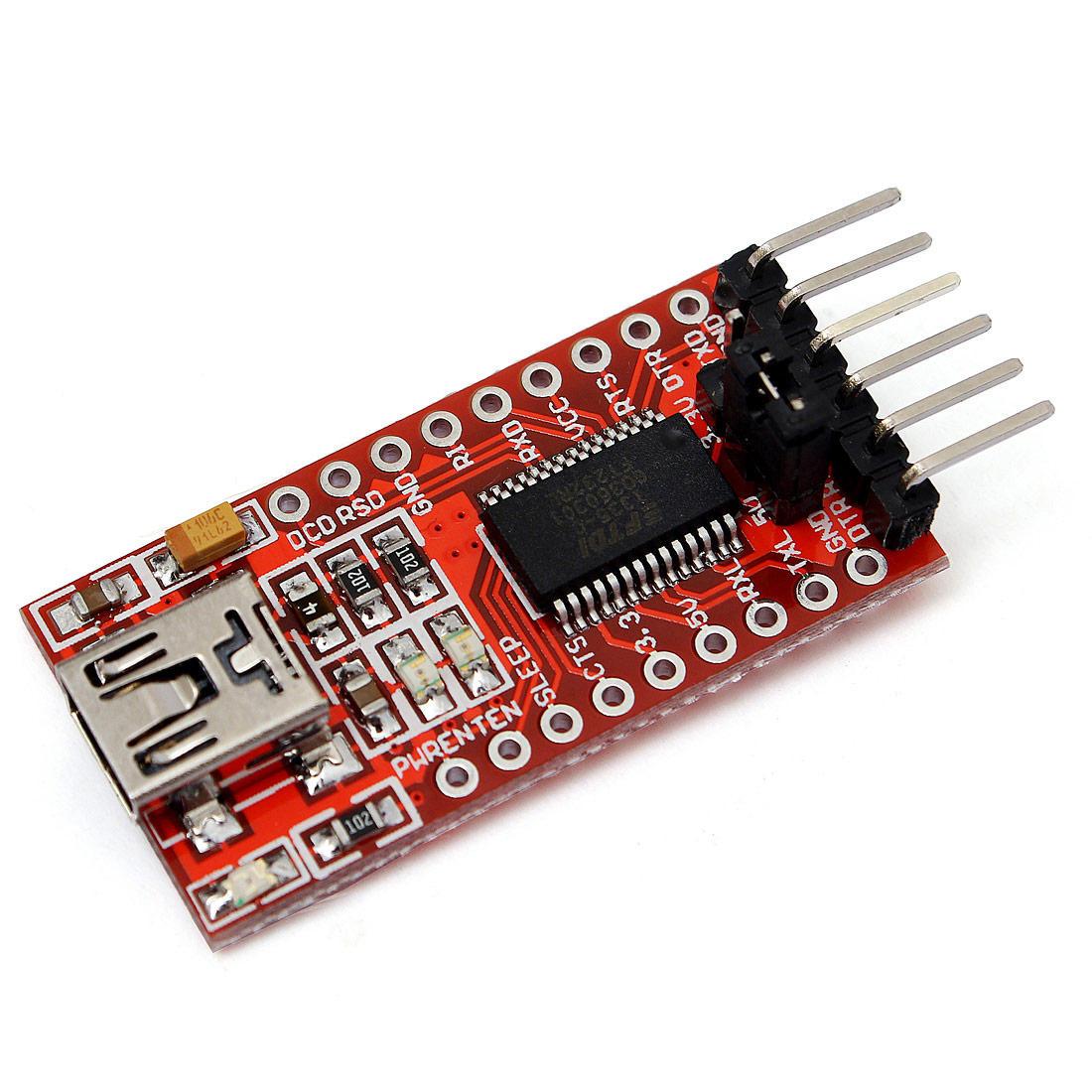 Moduł adaptera Geekcreit FT232RL FTDI USB To TTL Serial Converter Adapter Module For Arduino