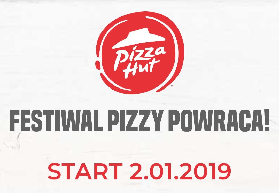 Festiwal pizzy dla głodomorów Pizza Hut