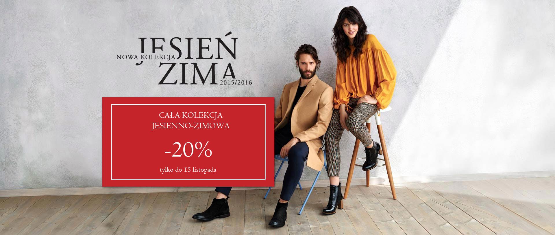 20% zniżki na nową kolekcję @ Badura