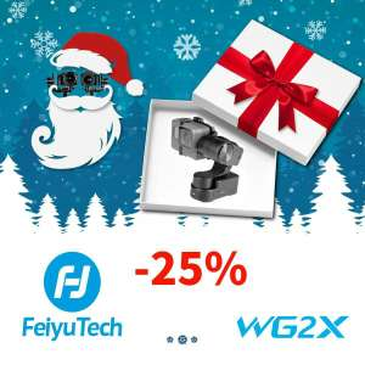Gimbal FeiyuTech Wg2x + zestaw akcesoriów Redleaf GO-L