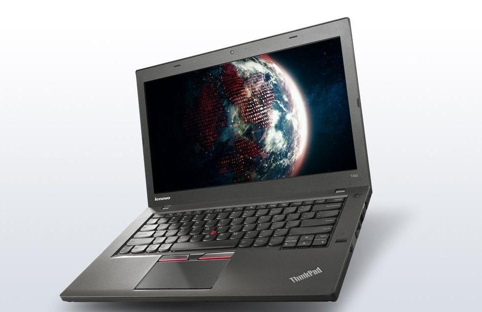 POLEASINGOWY Laptop Lenovo T450 i5-5300U 8GB 180GB SSD Win 10 Pro COA
