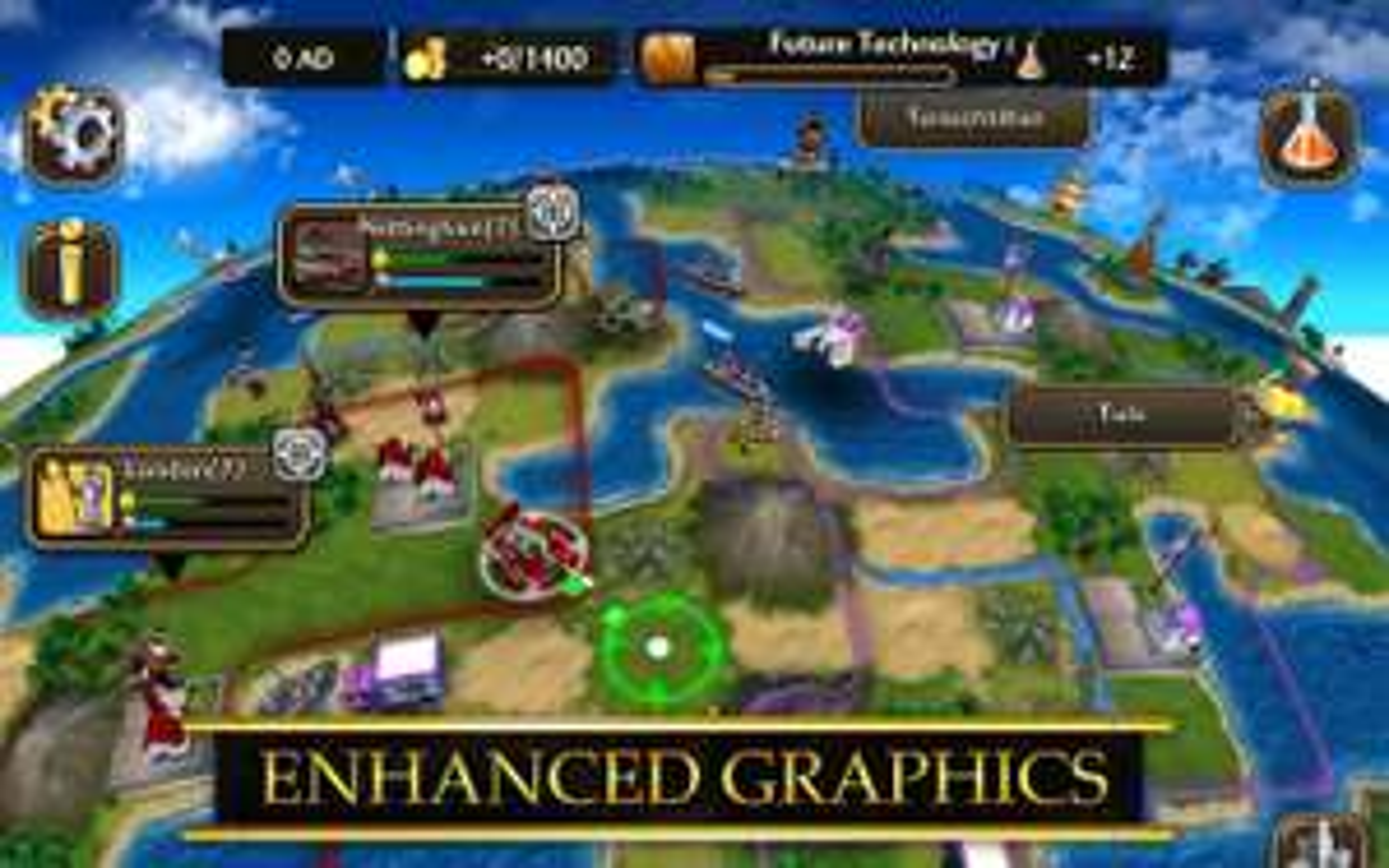 Civilization Revolution 2 czyli Cywilizacja na androida i iOS z konkretną przeceną.