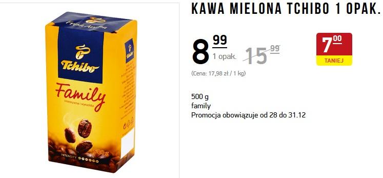Kawa mielona TCHIBO 500g