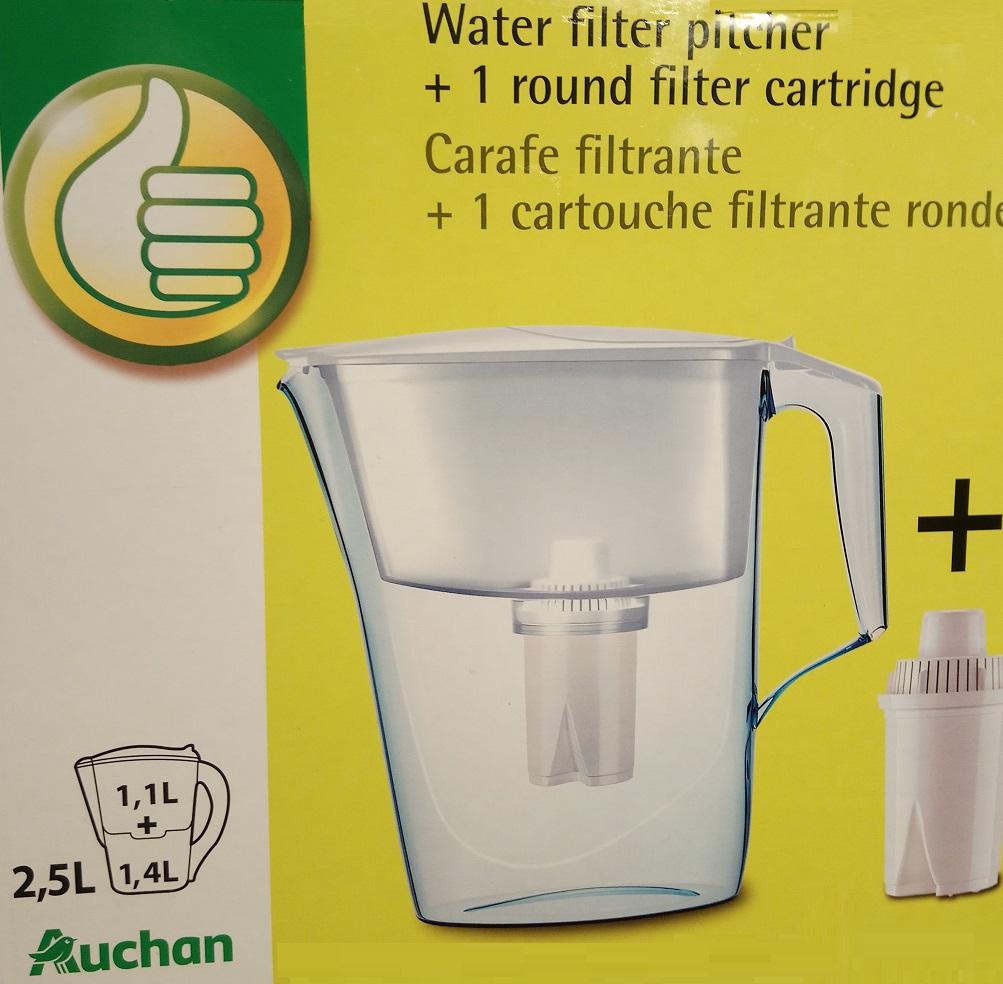 dzbanek filtrujący 2,5l.  by Auchan