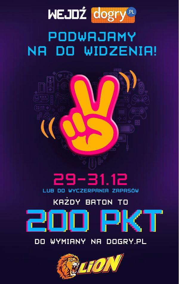 200 punktów na dogry.pl - baton Lion dogry