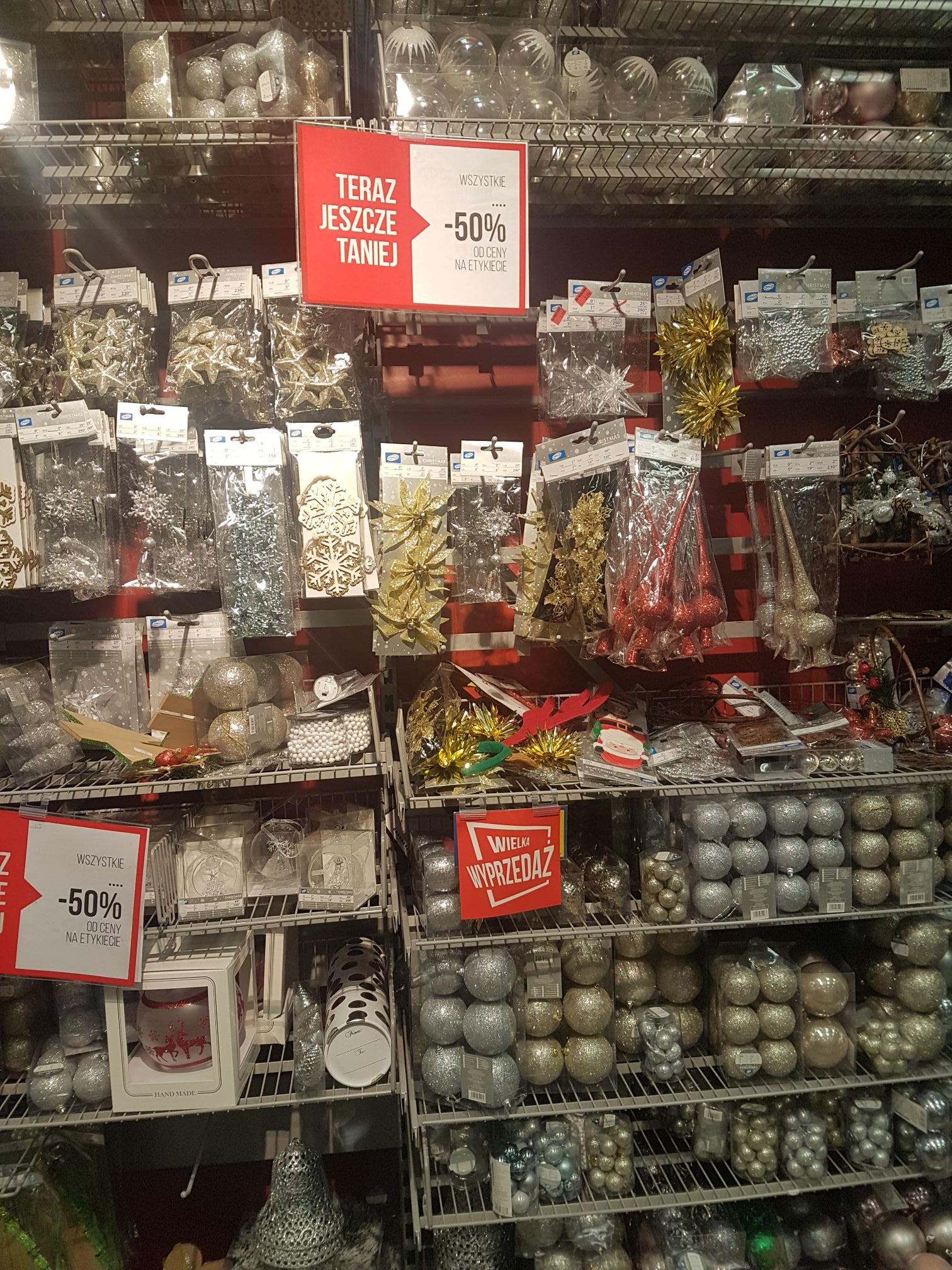 Pepco ozdoby świąteczne -50%