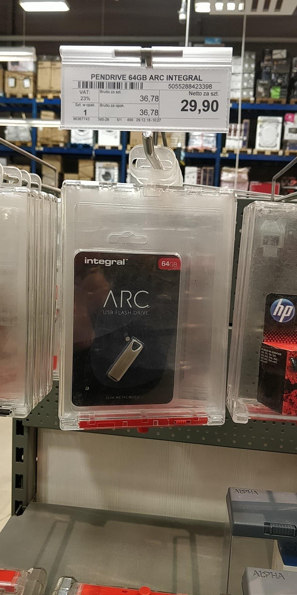 Selgros pendrive 64GB Integral Metal Arc