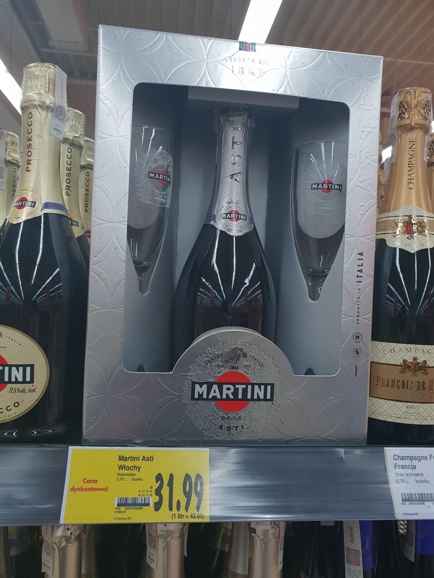 Wino musujące Martini Asti - Słodki