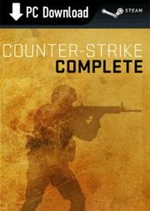 [Steam, PC] Counter Strike Complete (4 gry w tym CS:Source, CS:GO) za 21,50zł @ GAME
