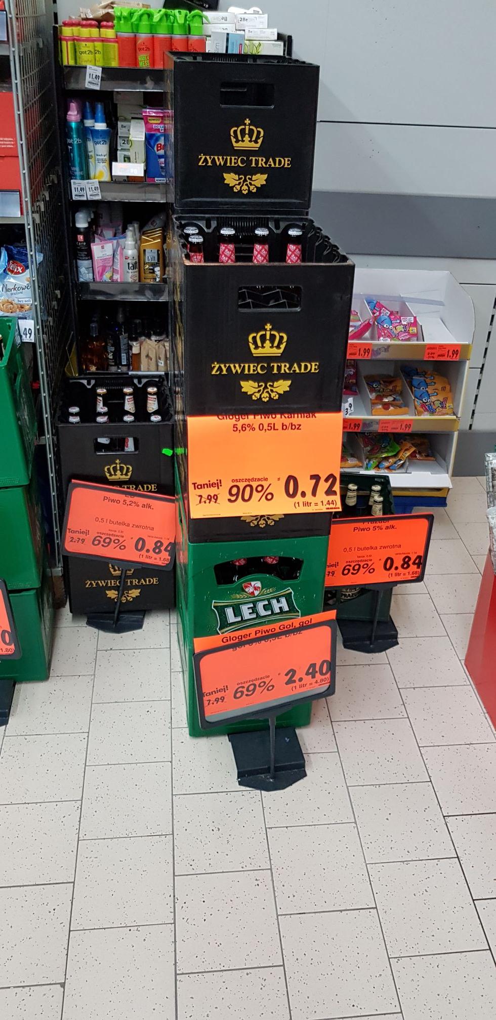 Wyprzedaż Piwa Kaufland
