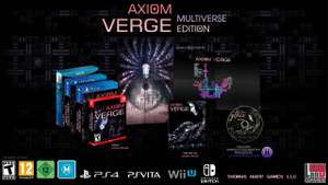 Axiom Verge Standard Edition lub Multiverse Edition [PS4/Nintendo Switch 48-76,50zł] @ TheGameCollection