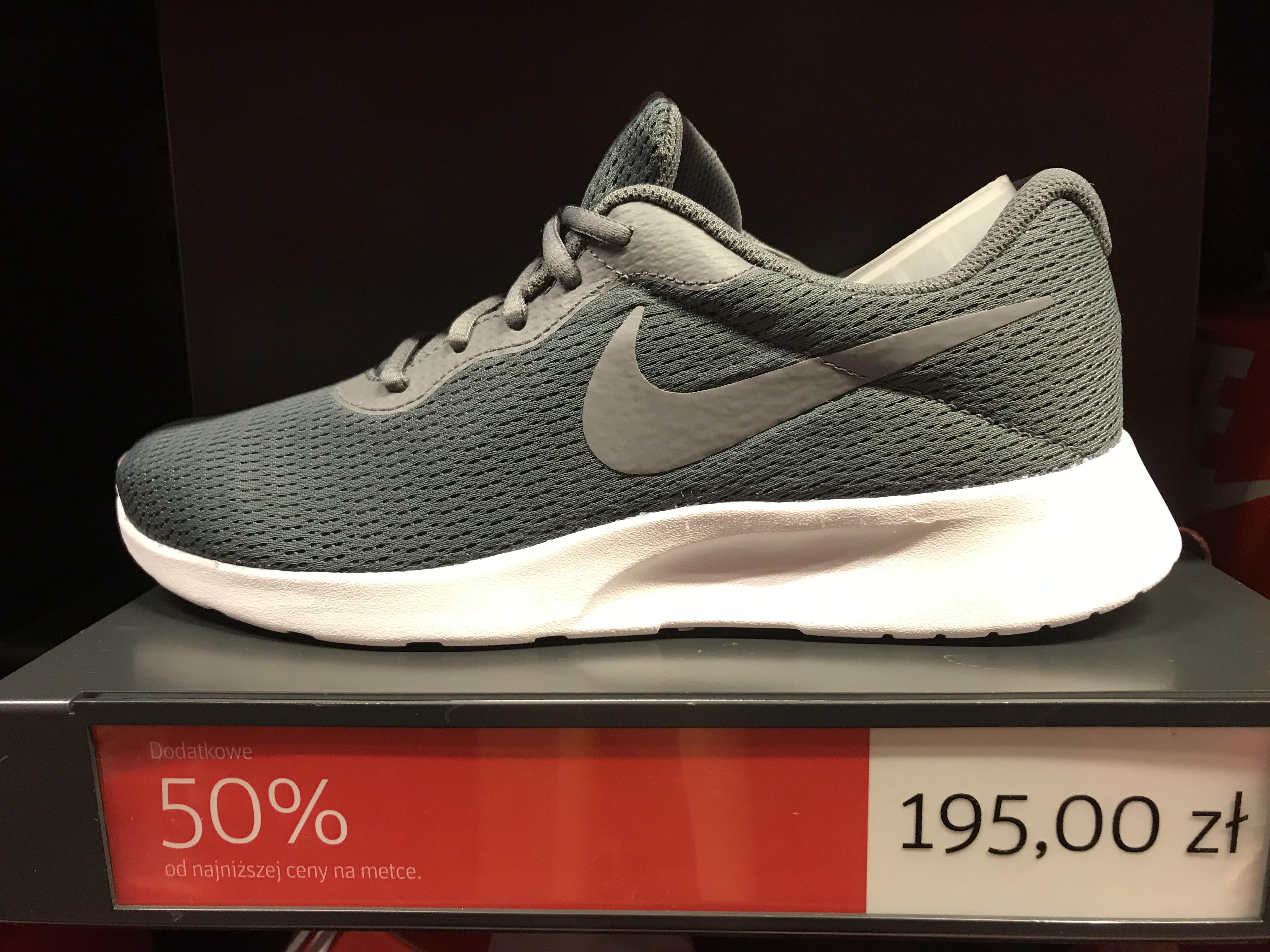 Nike Tanjun za 97,5zł @Nike factory ursus