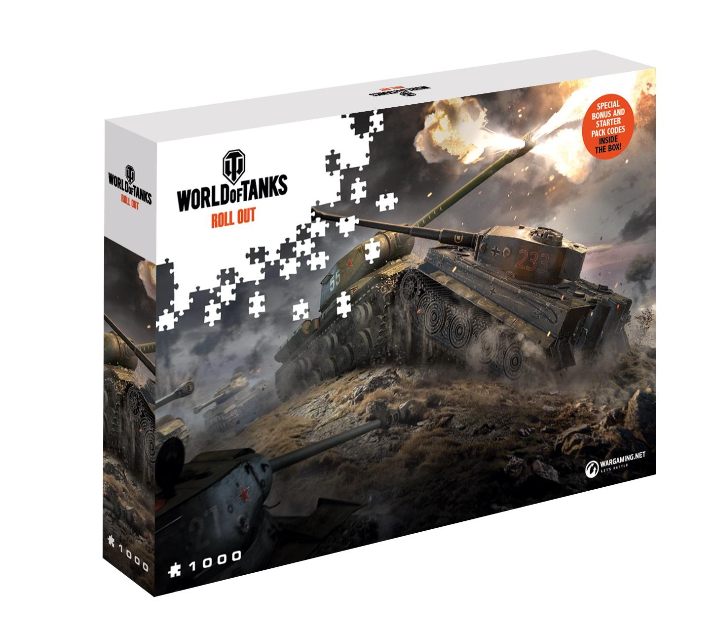 Puzzle World of Tanks/Warships 1000el. różne. Merlin.pl
