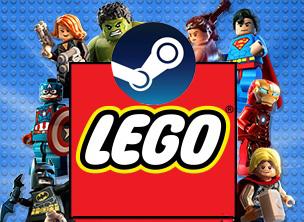 Promocje gier LEGO w Gamivo (STEAM PC)