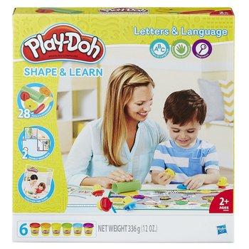 Play Doh, zestaw kreatywny Literki i mowa